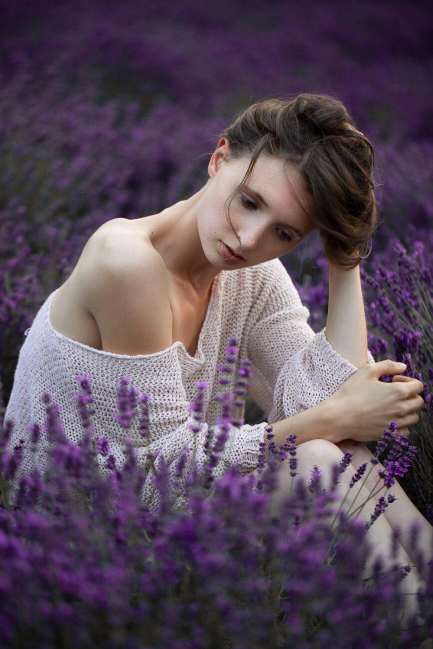 Lavendel Beauty Portrait